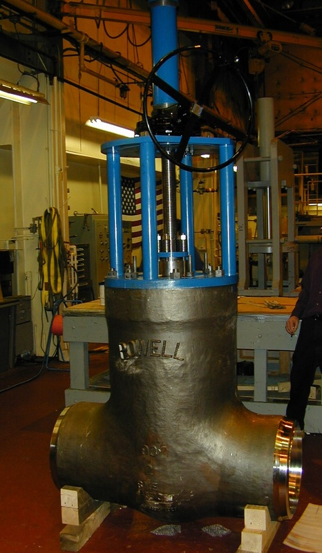 Large Bore Wedge Gate Valve